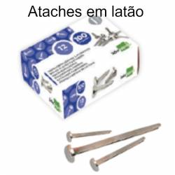 Ataches em latão