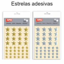 etiquetas adesivas estrelas