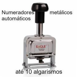 Numeradores automáticos de 10 dígitos