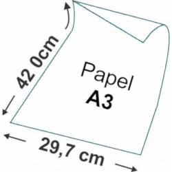 Papel A3 branco