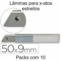 Lâminas para X-atos estreitos