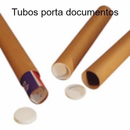 Tubos de cartão porta documentos