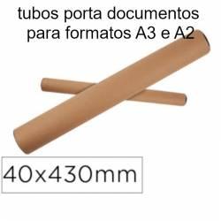 Tubos porta documentos A3 e A2