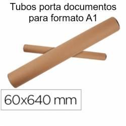 Tubos porta documentos formato A1