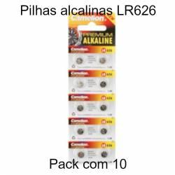 Pilhas LR626/ AG4 1.5V-18mAh