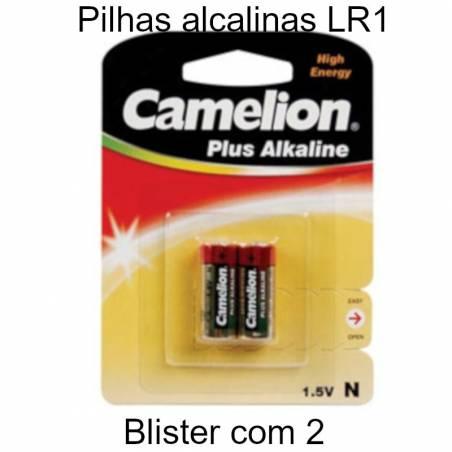 Pilhas LR1 alcalinas