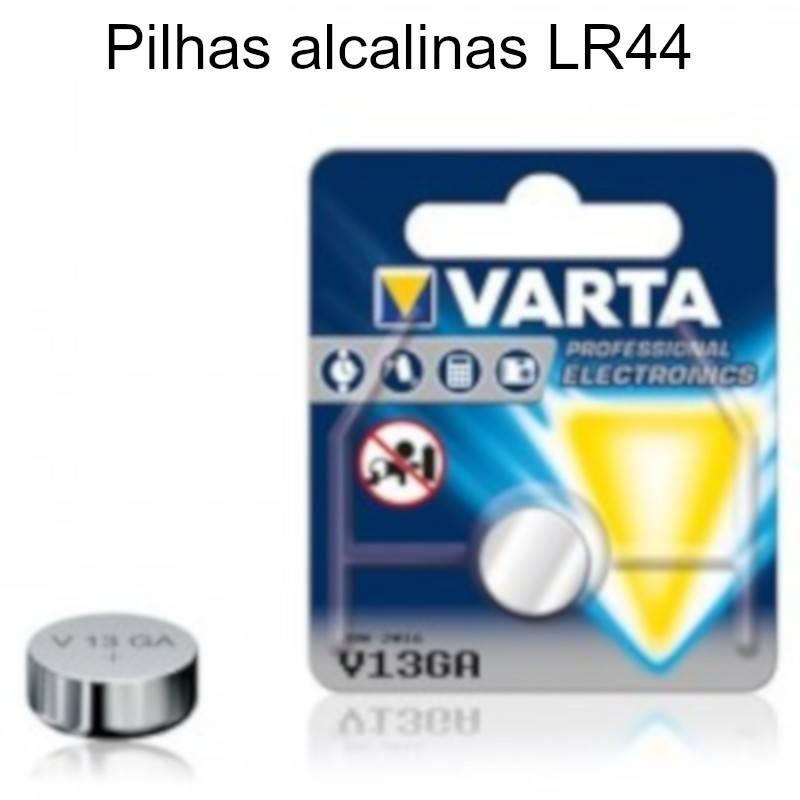 Pilhas Alcalinas LR44 1.5 V