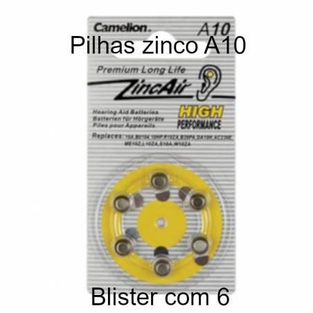 Pilhas Zinco PR70 1,4V-90mAh para micro audio