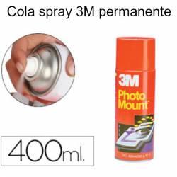 Colas em spray 3M Photo Mount (lata vermelha)