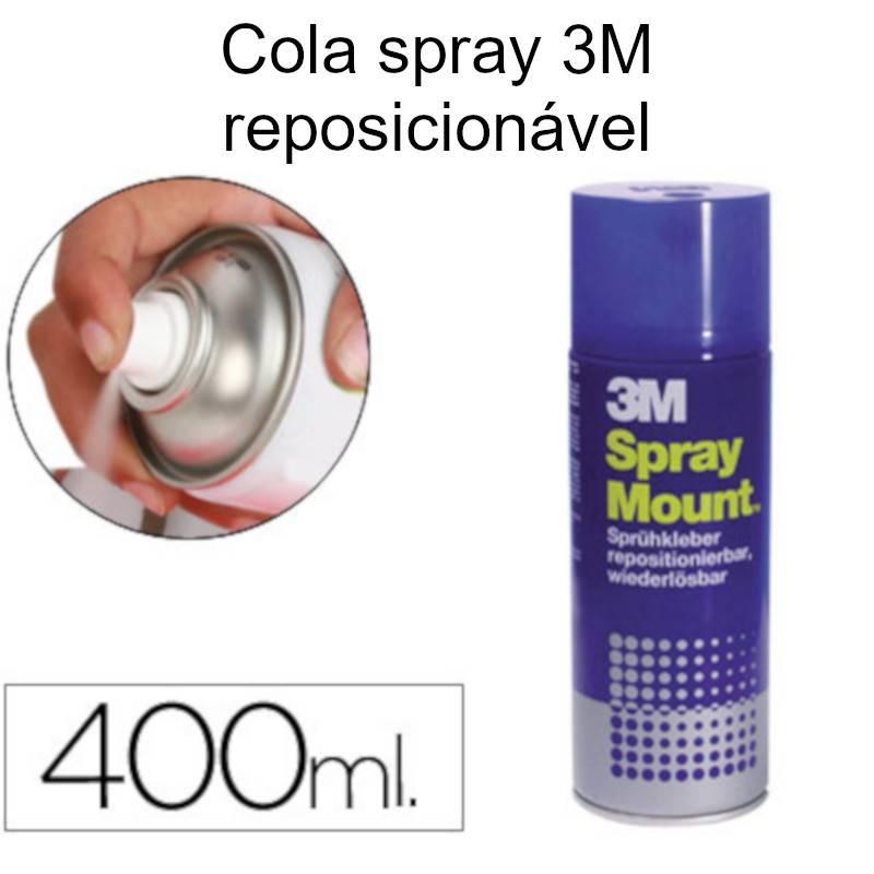 Cola em spray 3M Mount (lata azul)