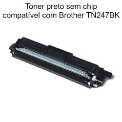Toner preto compatível com Brother TN247BK
