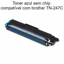 Toner azul compatível com Brother TN247C
