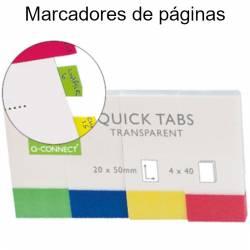 Marcadores de página adesivos index