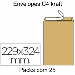 Envelopes Kraft C4 (229X324mm)