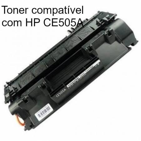 Toner compatível com HP 5A (CE505A)