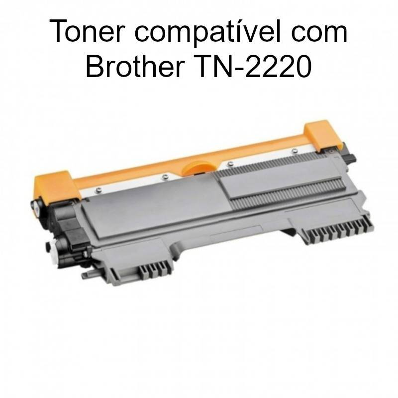 Toner compatível com Brother TN-2220