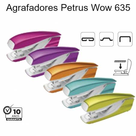 Agrafadores Petrus Wow 635