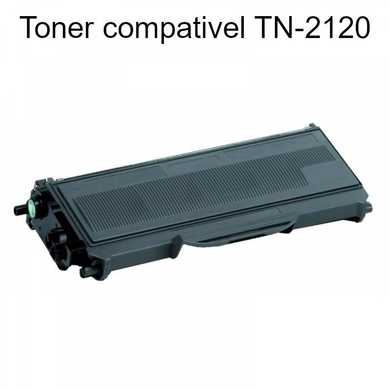 Toner compatível com Brother TN-2120
