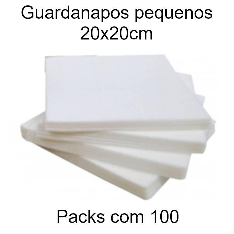 Guardanapos de papel pequenos