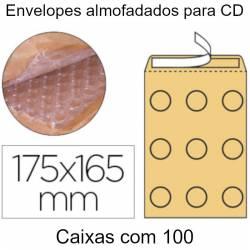 Envelopes almofadados para CD