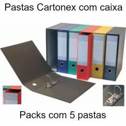 Pastas com caixa coloridas Cartonex 80V