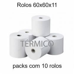 Rolos térmicos 60x60x11