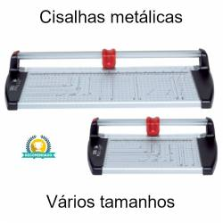 Cisalhas metálicas para cortar papel