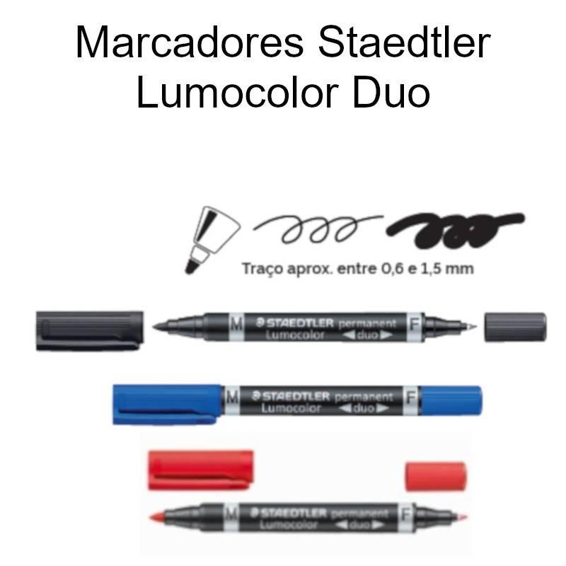Marcadores Staedtler Lumocolor duo