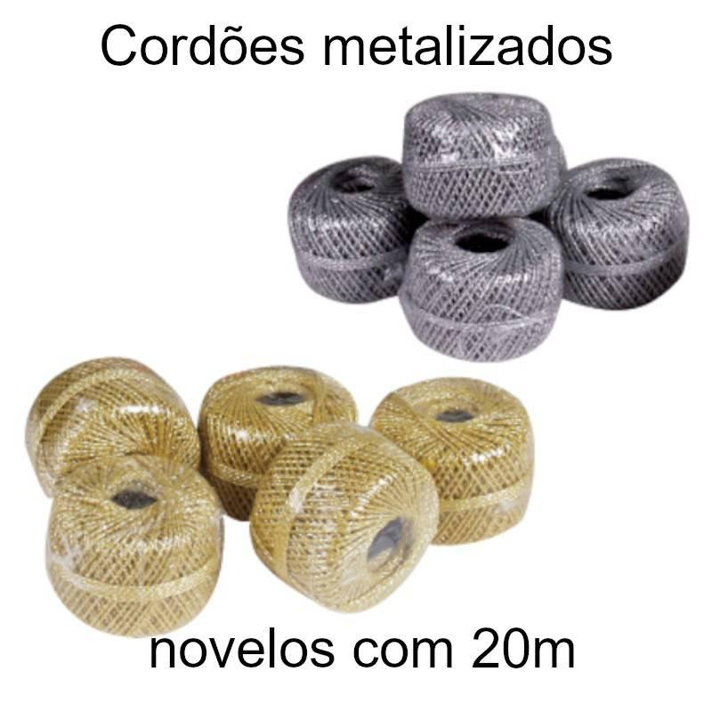 Cordões metalizados