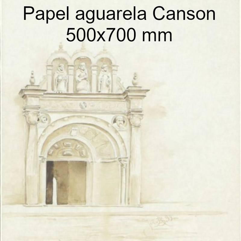 Papel aguarela Canson 500x700 mm