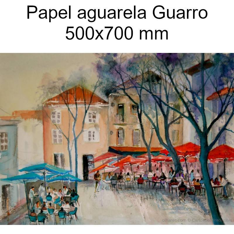 Papel aguarela Guarro 500x700 mm