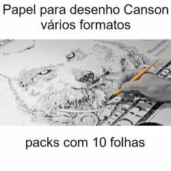 Papel para desenho Canson sem esquadria
