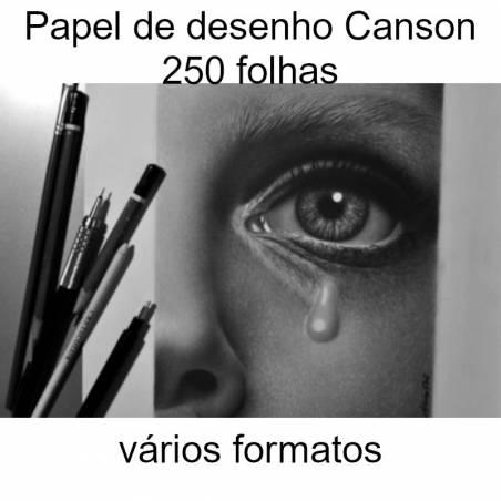 Papel de desenho Canson 250 folhas