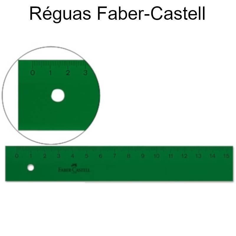 Réguas Faber-Castell