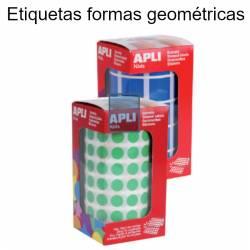 Etiquetas formas geométricas