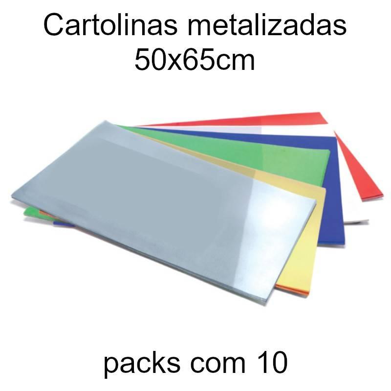 Cartolinas metalizadas