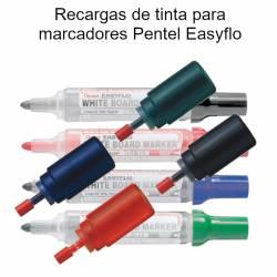 Recargas de tinta para marcadores Pentel Easyflo