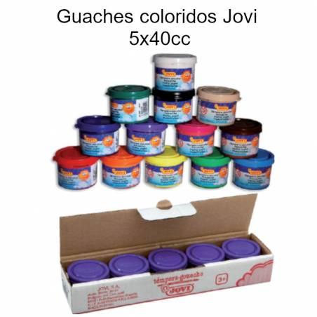 Guaches coloridos (5x40cc)