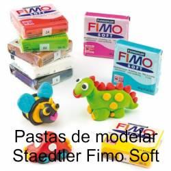 Pastas para modelar Staedtler Fimo Soft com 56 g.