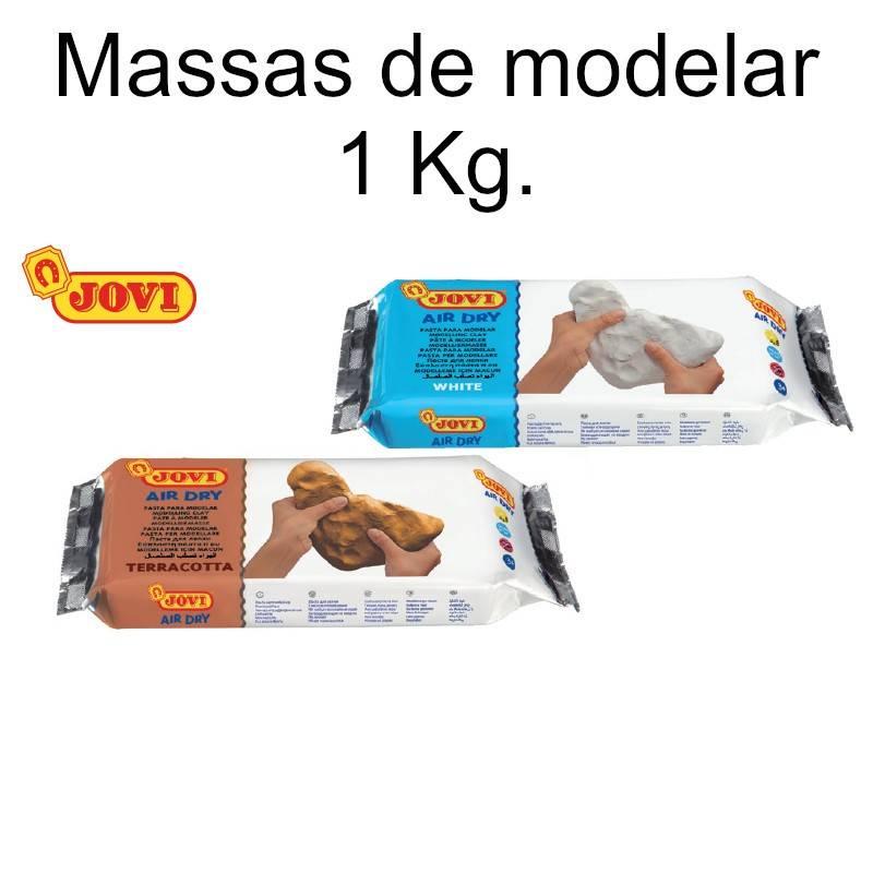 Pastas para modelar Jovi 1000g.