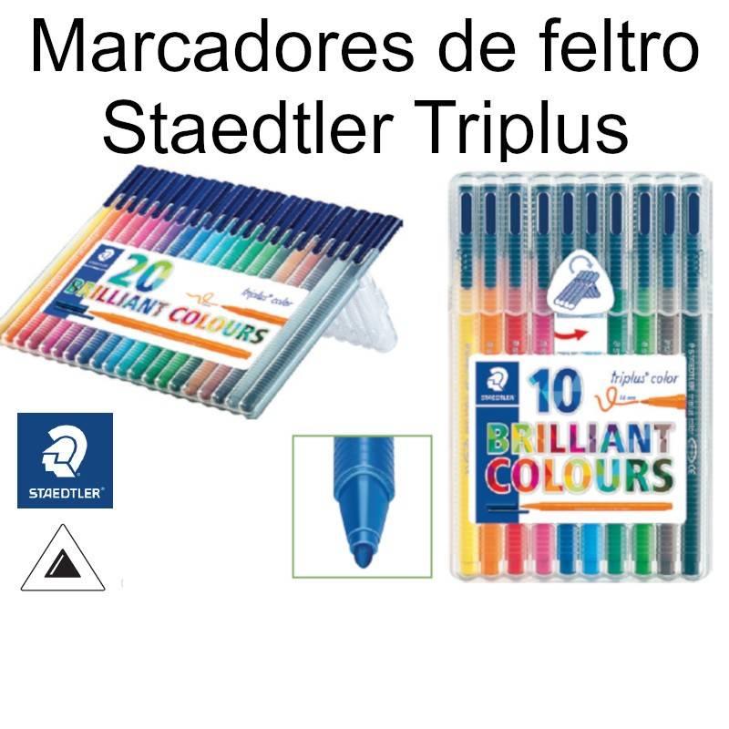 Marcadores de feltro Staedtler Triplus