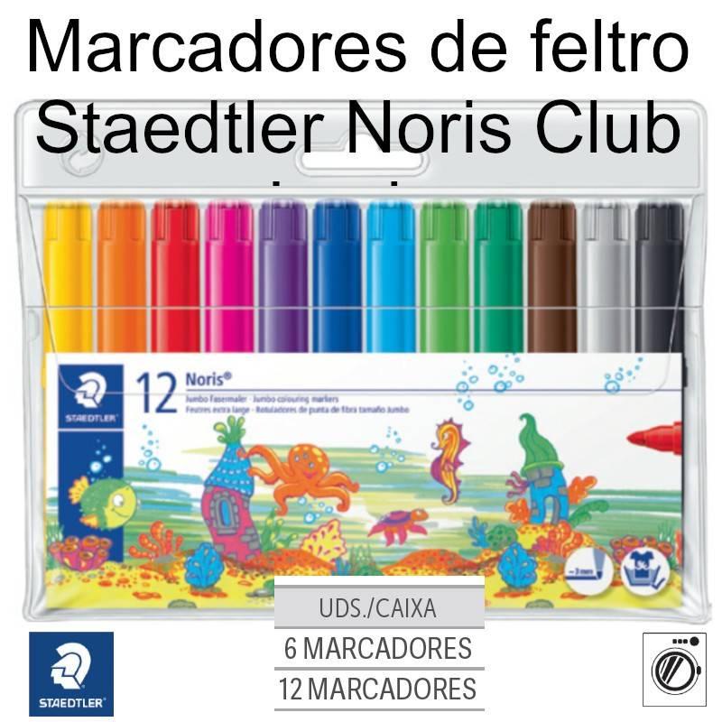 Marcadores de feltro Staedtler Noris Club Jumbo