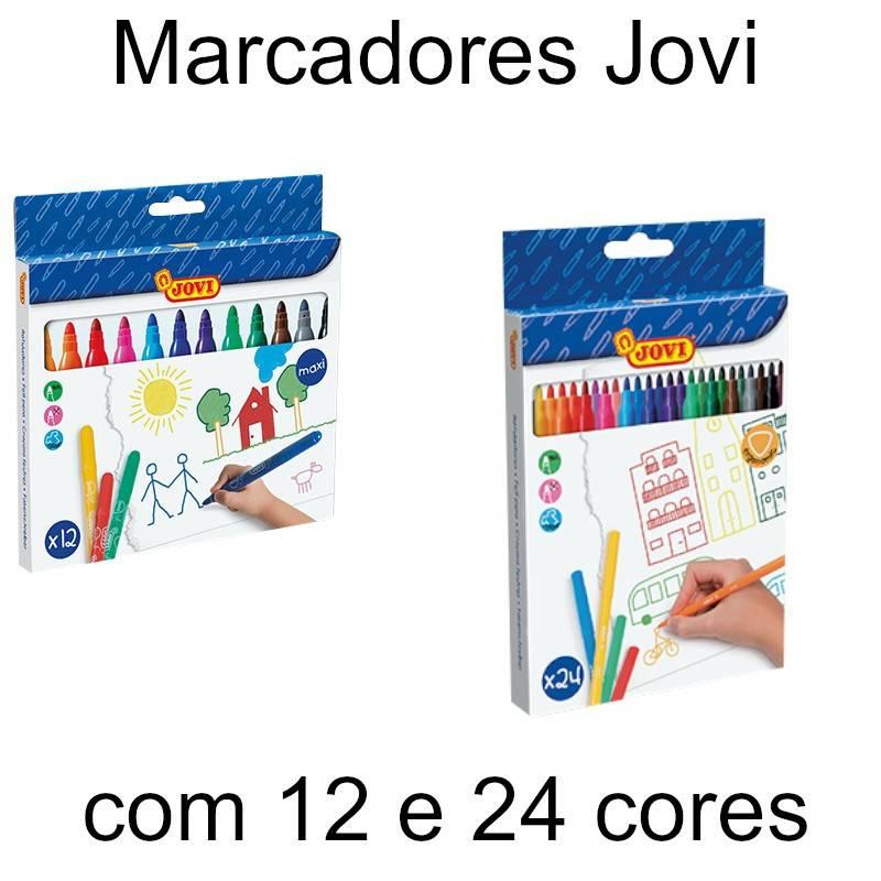 Marcadores de feltro Jovi