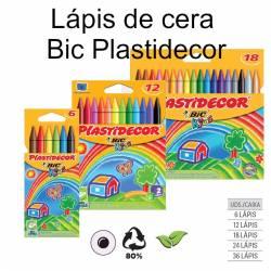 Lápis de cera Bic Plastidecor