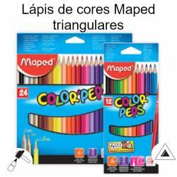 Lápis de cores Maped triangulares