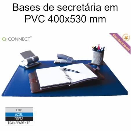 Bases de secretária em PVC 400x530 mm