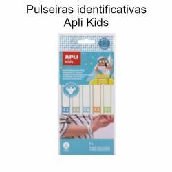 Pulseiras identificativas Apli Kids