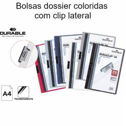 Bolsas dossier com clip...