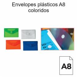 Envelopes plásticos A8...