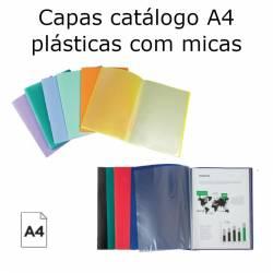 Capas catálogo A4 plásticas...